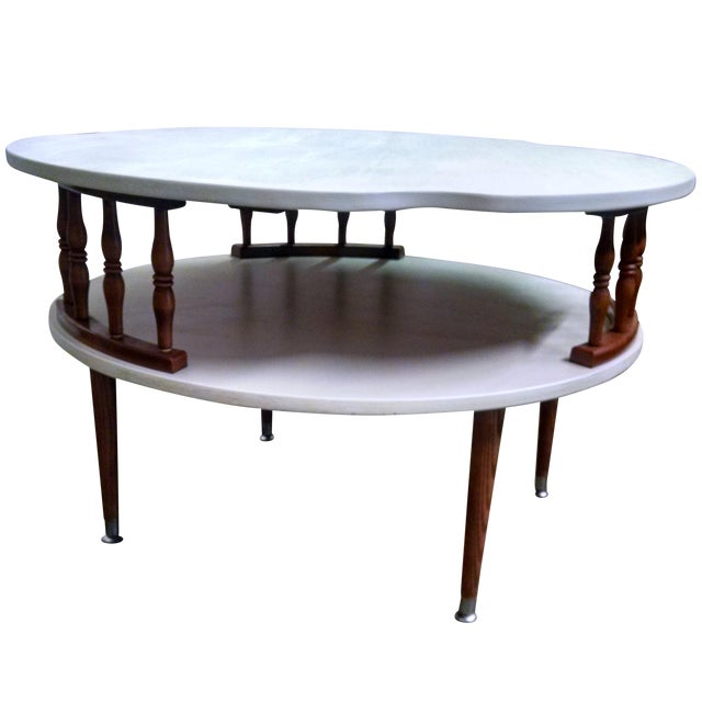 Mid Century Modern Ethan Allen Coffee Table For Sale