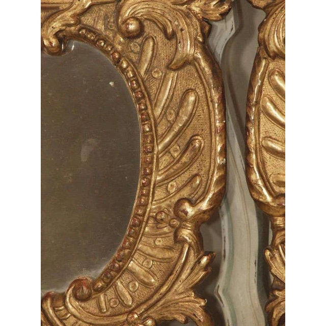 Pair of Italian Gilt Mirrors For Sale In New Orleans - Image 6 of 8