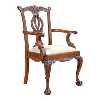 Cambridge Mahogany Arm Chair For Sale