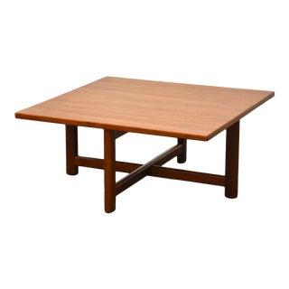 Teak MCM Petite End Table For Sale