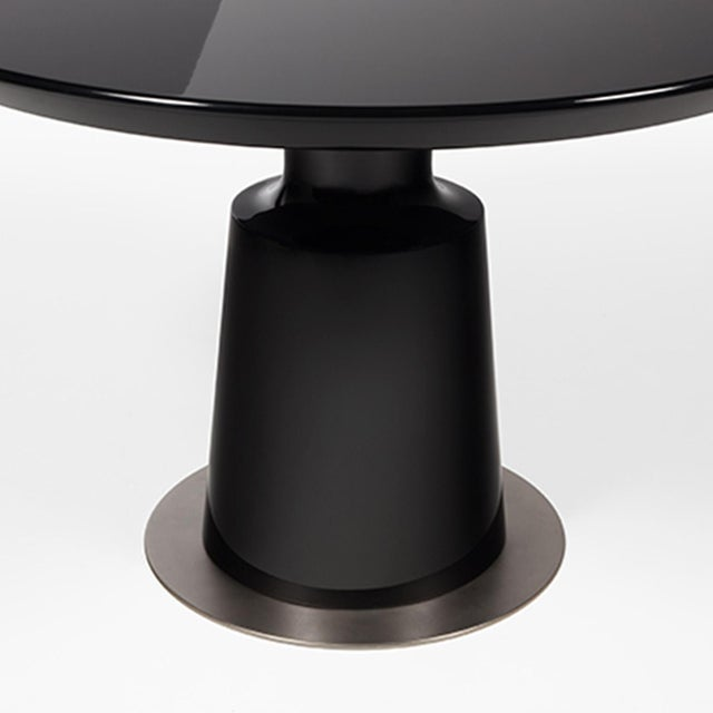 Holly Hunt Black Peso Dining Table - Image 2 of 3