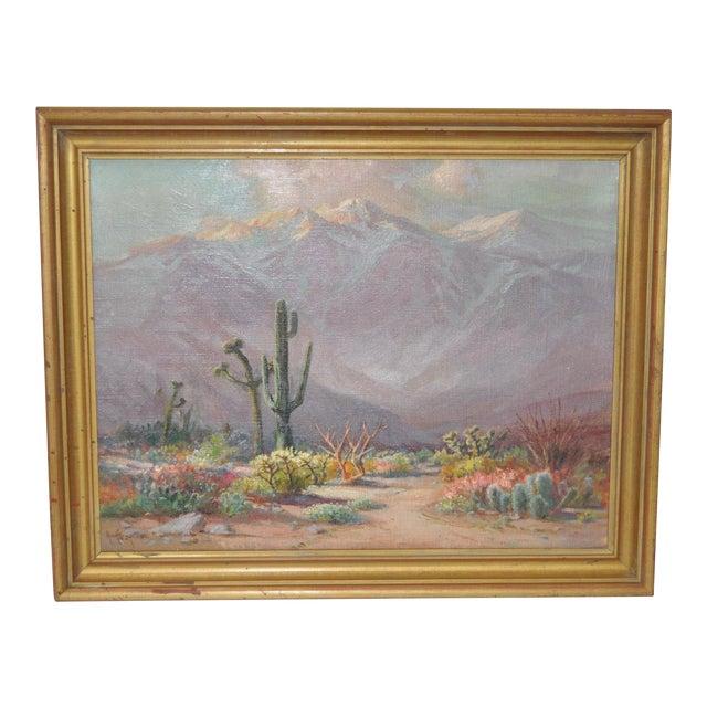 Arthur Best (1859-1935) American Desert Landscape C.1920s For Sale