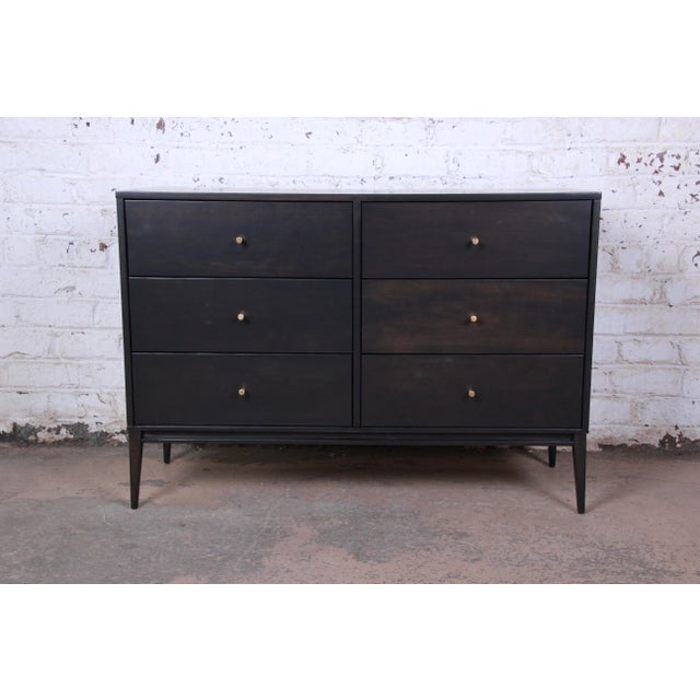 Paul McCobb Planner Group Birch Wood Six-Drawer Dresser, Newly Refinished For Sale - Image 13 of 13