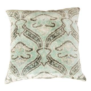 Modern Velvet Green Sofa Pillow For Sale