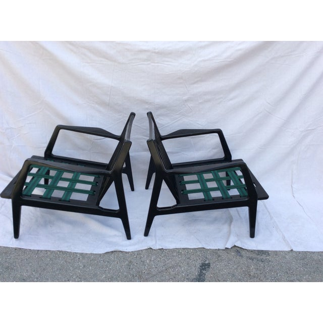 Mid Century Side Chairs - a Pair For Sale In Los Angeles - Image 6 of 10