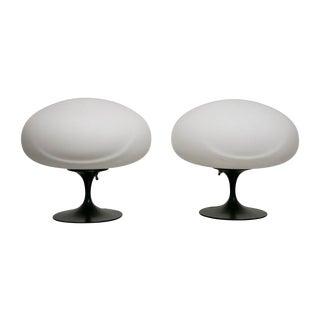 Pair of Mushroom Lamps by Laurel For Sale