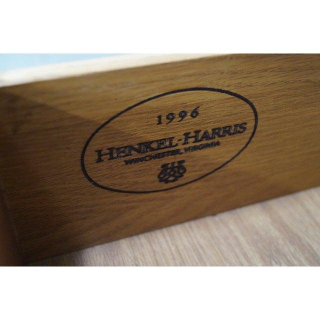 Henkel Harris Mahogany Bombe Base Bedroom Armoire For Sale - Image 7 of 10