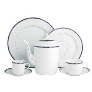 """Bernardaud """"Athena Platinum Navy"""" Porcelain China"""