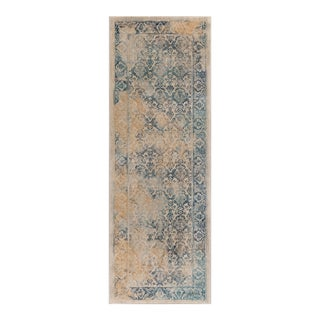 Journey Nicola Traditional Floral Cream Runner Rug - 2' x 8'