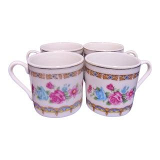 Demitasse Tea Espresso Cups - Set of 4 For Sale
