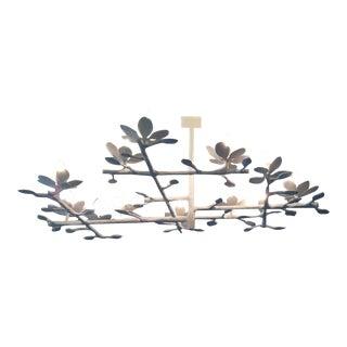 Plaster Garden Chandelier (White-1l-7l) For Sale