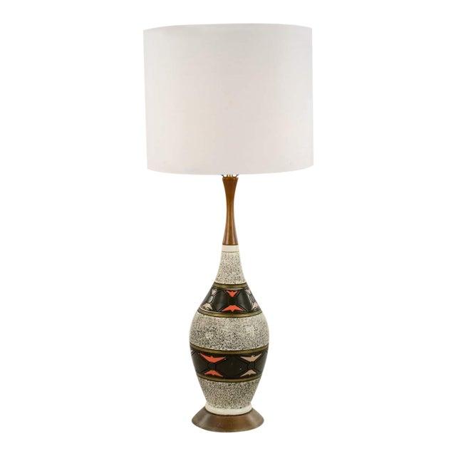 1960s Pieri Tullio Italian Mid Century Modern Table Lamp Chairish