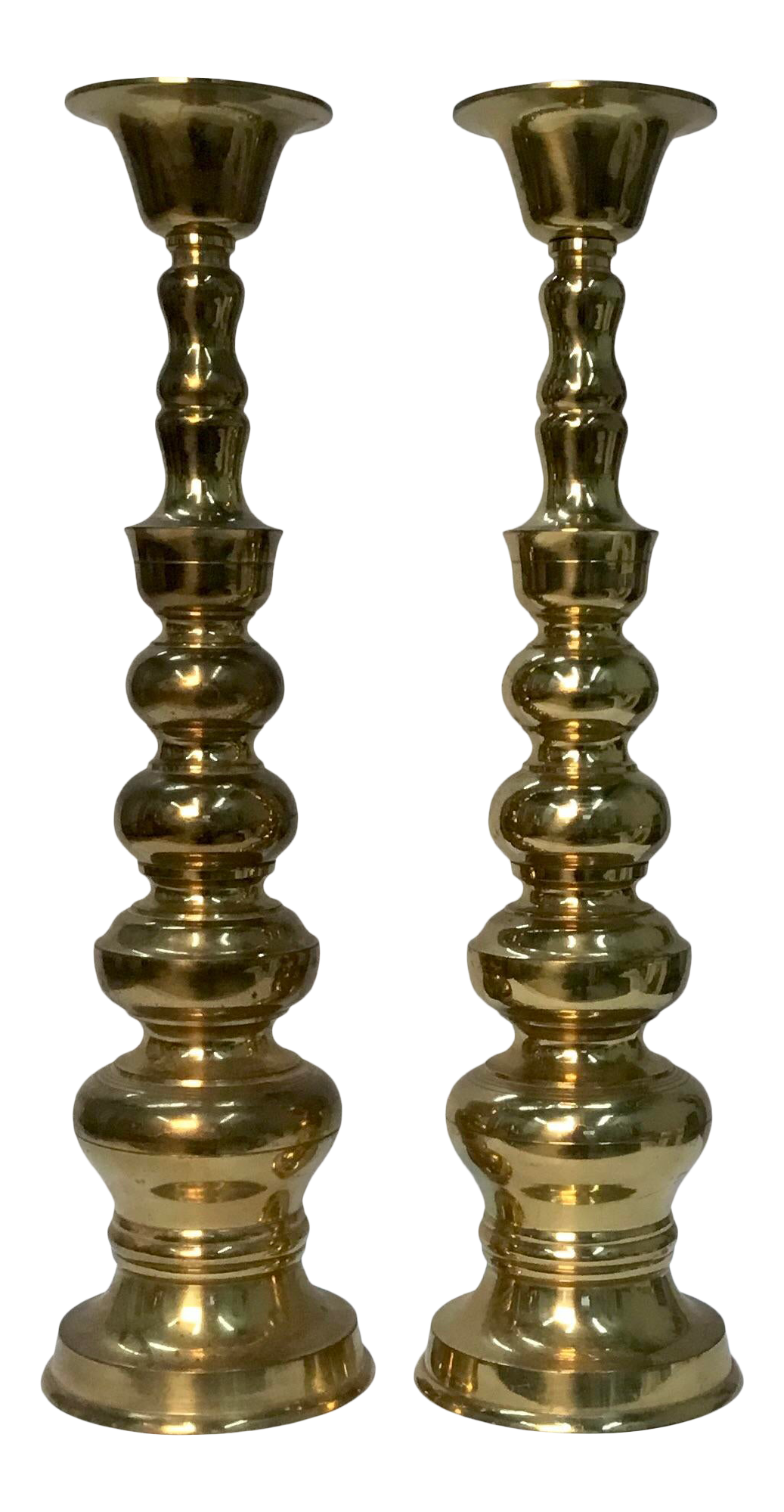 To candlesticks brass old do what with Candlesticks