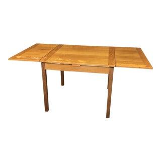 1960s Ansanger Mobler Teak Expanding Dining Table For Sale
