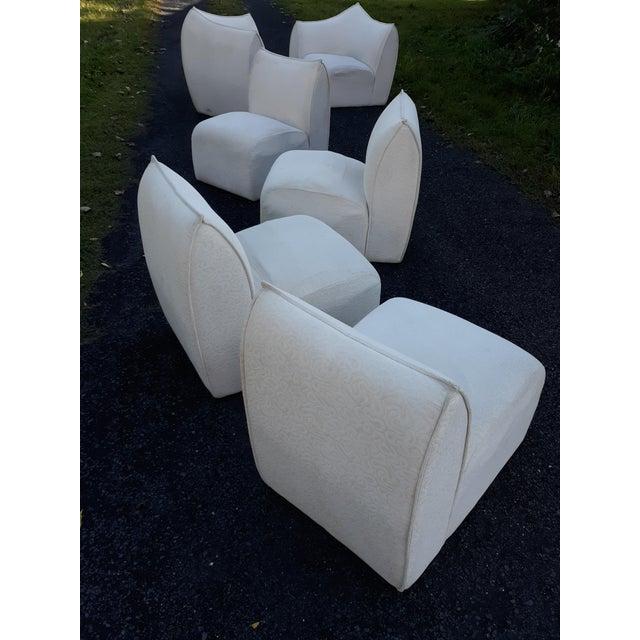 Mid-Century Modern Mario Bellini for B&b Italia Le Bambole 6 Piece Sectional Sofa For Sale - Image 3 of 13