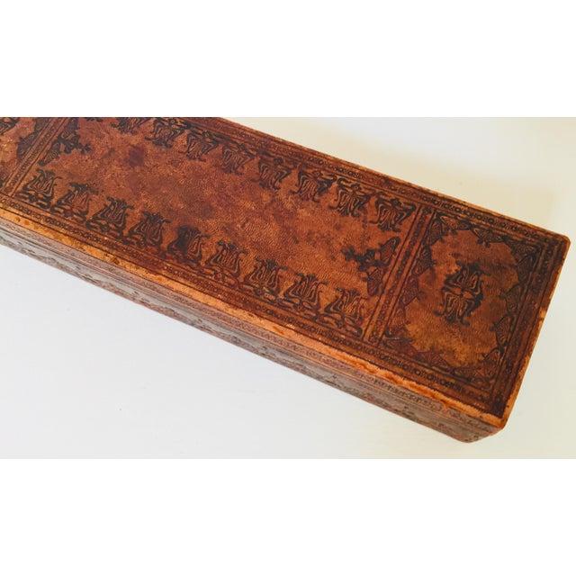 "French Antique Glove Box by ""A La Marquise De Sevigne Paris"" For Sale In Los Angeles - Image 6 of 12"