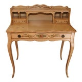 Image of Antique Traditional Writing Desk For Sale