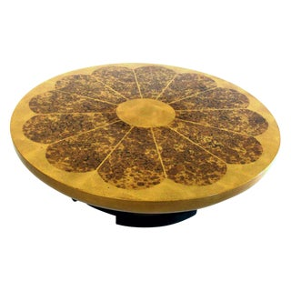 Lotus Coffee Table by Theodore Muller and Isabel Barriger for Kittinger, 1950s For Sale