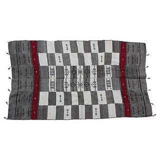 Vintage Fulani Wool Blanket For Sale