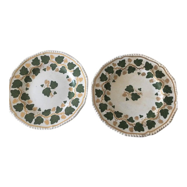 Early 19th Century Bloor Darby Plates - a Pair For Sale
