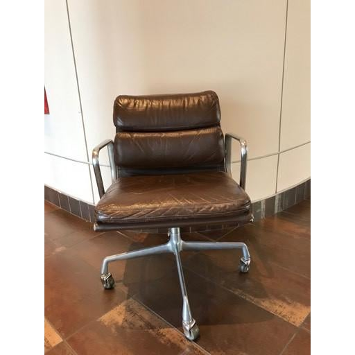 This is a vintage Herman Miller chair that has been with our company for the 30 years it has been open. It is used but is...
