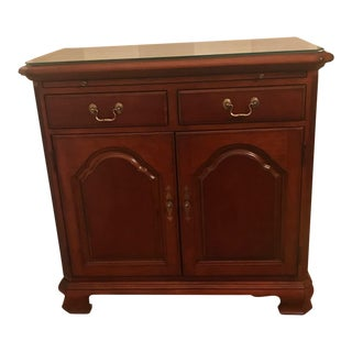 Traditional American Drew Cherry Grove Server For Sale