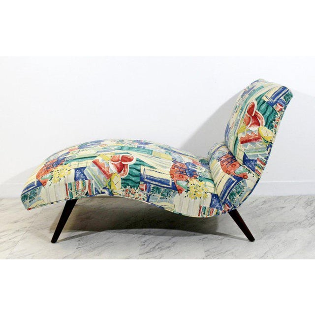 Mid-Century Modern Contour Wave Chaise Lounge Chair by Adrian Pearsall, 1950s For Sale In Detroit - Image 6 of 10