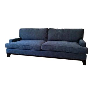 Contemporary Custom Blue Sofa For Sale