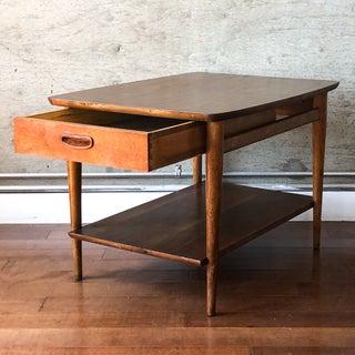 1960s Danish Modern Lane Walnut Side Table Preview