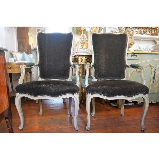 Set of Six Dining Chairs For Sale - Image 9 of 10