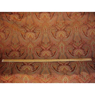 Traditional Kravet Couture Sumptuous Paisley Java Silk Drapery Upholstery Fabric - 4-1/2y Preview