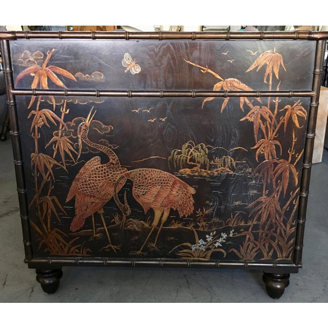 Henredon Folio 10 Asian Style Desk For Sale In Miami - Image 6 of 10