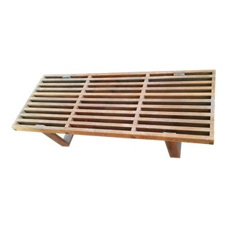 Hand Crafted 1960's 'Nelson' Style Platform Bench/Coffee Table