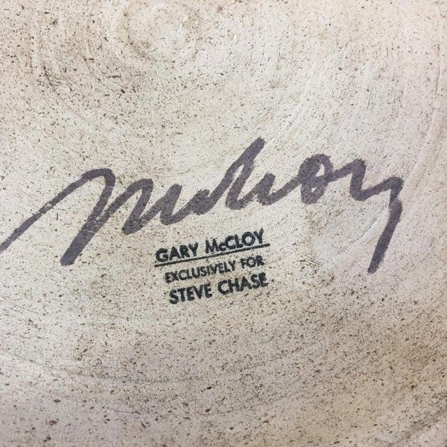 1980s Designer Metallic Glaze Planter Pot by Gary McCloy for Steve Chase For Sale - Image 9 of 10