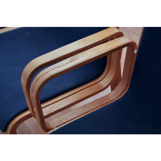Bill Stephens for Knoll Arm Chairs, a Pair - Image 7 of 8