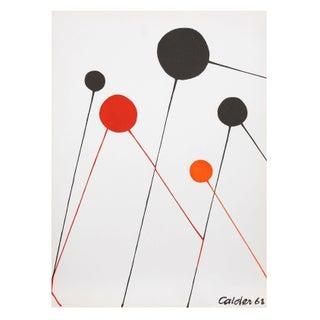 Alexander Calder - Balloons Lithograph