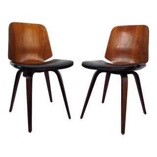 Pair of Mid-Century Plycraft Chairs For Sale