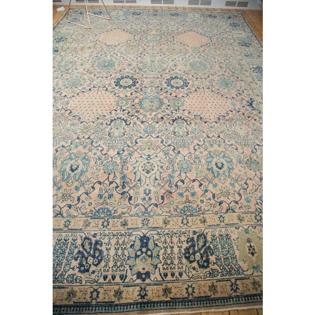 "Vintage Kashan Carpet - 10'1"" X 14'2"" - Image 5 of 10"