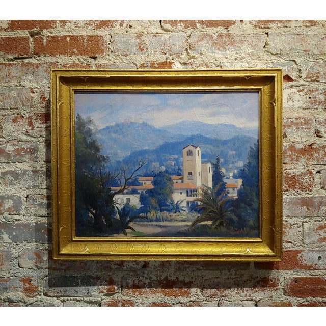 David Gershuni - Griffith Park, Los Angeles 1930s-Oil Painting For Sale - Image 9 of 9