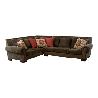 Vintage Used Custom Sectional Sofas For Sale Chairish