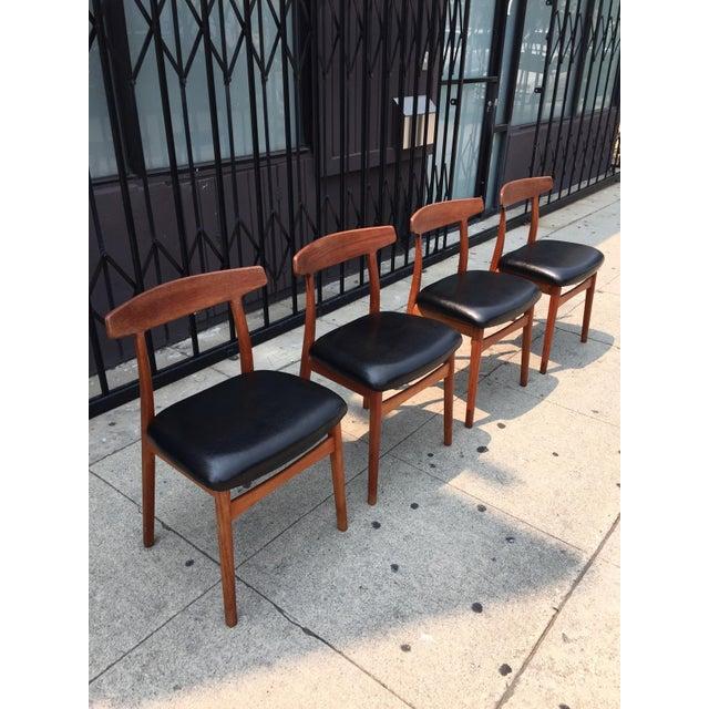 Bruno Hansen Danish Modern Chairs - Set of 4 - Image 4 of 9
