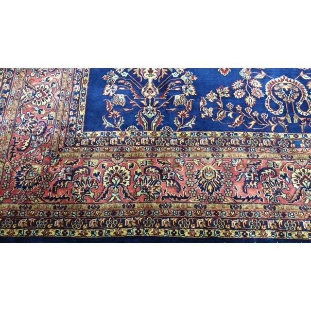 Traditional Wool Handmade Rug For Sale - Image 4 of 7