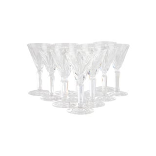 Vintage Waterford Shelia Cordial Glasses - Set of 10 For Sale