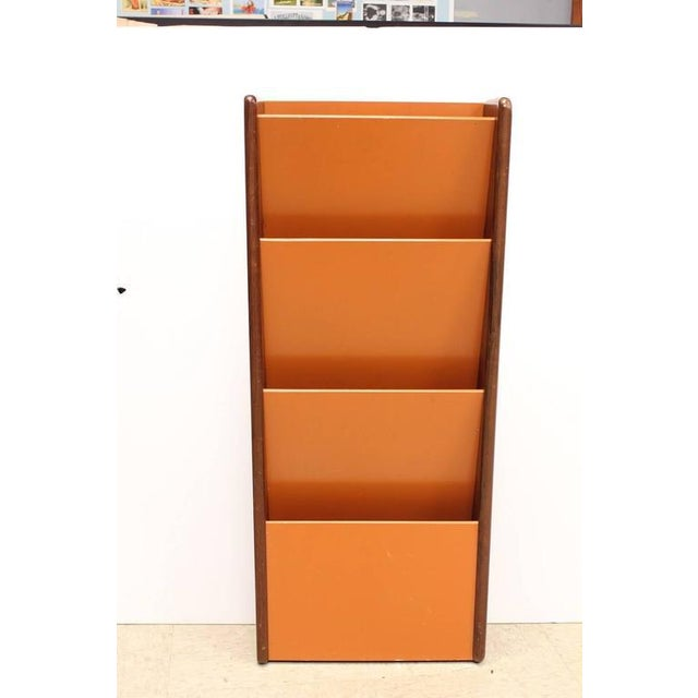 Peter Pepper Products Mid-Century Wall Mount Magazine Holder - Image 2 of 3