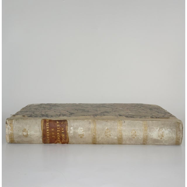 Animal Skin 18th Century Traditional Goat SkinVellum Books - Set of 3 For Sale - Image 7 of 11