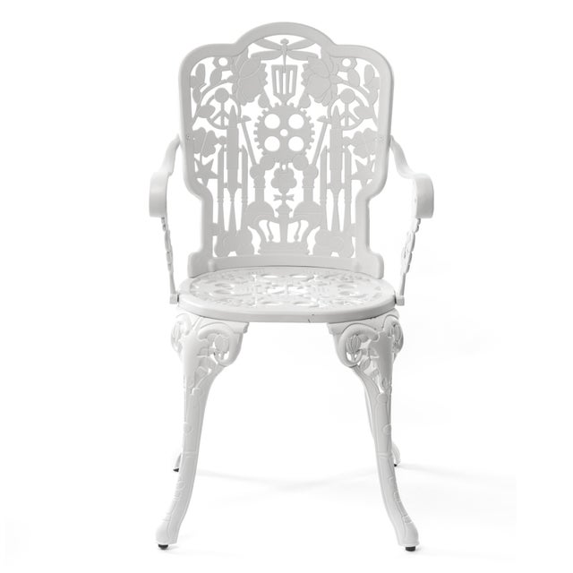 Not Yet Made - Made To Order Seletti, Industry Armchair, Indoor/Outdoor, White, Studio Job, 2017 For Sale - Image 5 of 5
