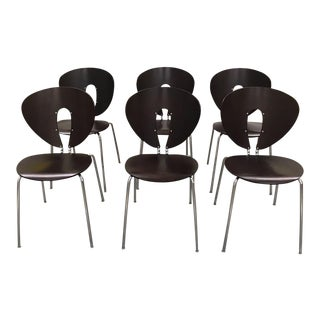 Jesús Gasca for Stua Globus Chairs - Set of 6