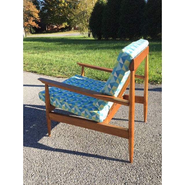 1950s Knoll Antimott Lounge Chair For Sale - Image 5 of 13