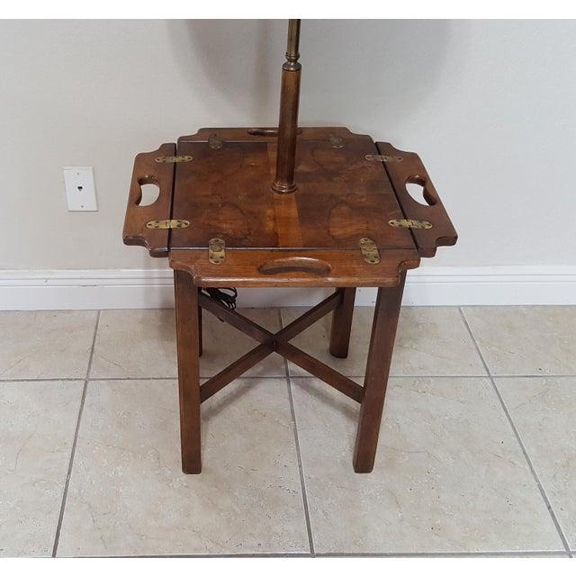 Vintage Knob Creek Mid Century Table Floor Lamp For Sale - Image 4 of 13
