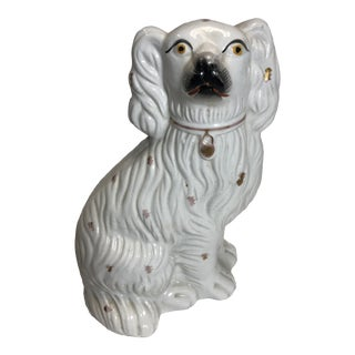 19th Century English Stanfordshire Dog For Sale